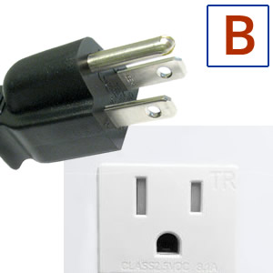 Electric socket and plug B
