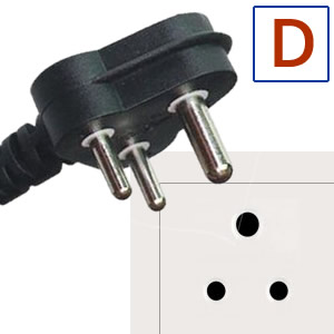 Electric socket and plug D