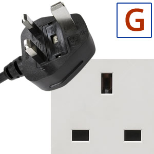 Electric socket and plug G