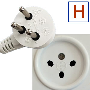 Electric socket and plug H