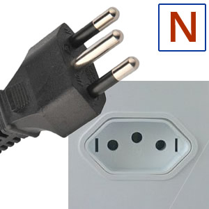 Electric socket and plug N